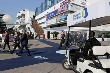 Visitors at Mipim 2017
