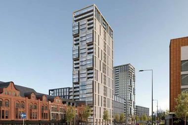 The 1,000-home New Monaco development proposed for Bristol Road in Birmingham, designed by Leach Rhodes Walker Architects