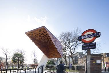 The Bethnal Green Memorial, by Arboreal Architecture