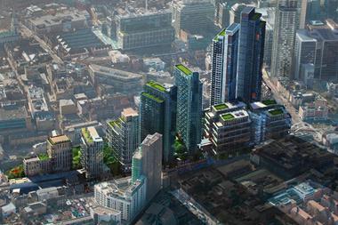 Bishopsgate Goodsyard proposals