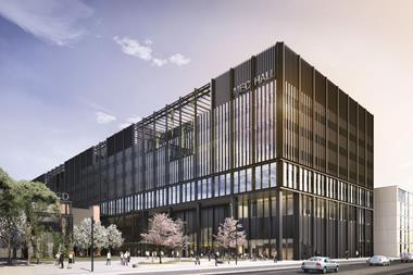 Mecanoo's Manchester Engineering Campus Development (MECD) - MEC Hall