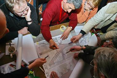 Hands-on planning workshop considering design options for a key space in Lubeck