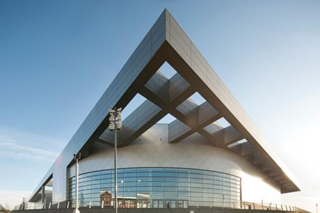 Emirates Arena in Glasgow by 3D Reid.