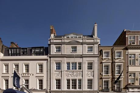 Richard Green Gallery, New Bond Street, London. Designed by George Saumarez Smith of Adam Architecture and completed in 2011