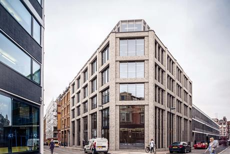 White Arkitekter's Tabernacle Street office scheme