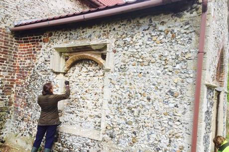 SPAB scholar Lilian Tuohy Main gets to grips with an ancient building