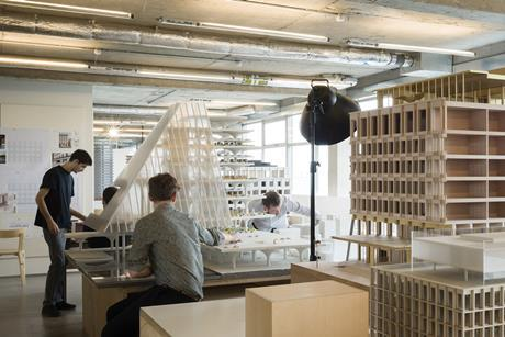David Chipperfield Architects' London office. The practice has projects all over the world