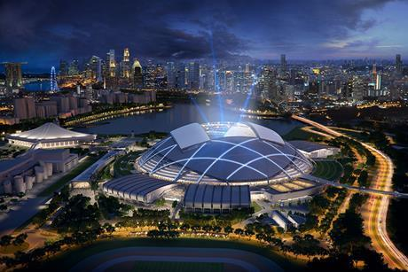 DP Architects' Singapore Sports Hub