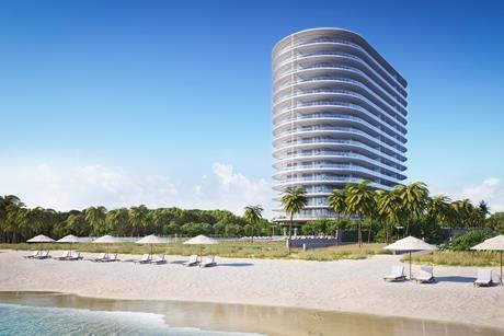 Eighty Seven Park beach view