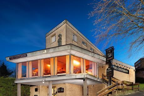 The Centurion pub in Bath