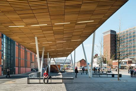 Stoke-on-Trent Bus Station by Grimshaw Architects