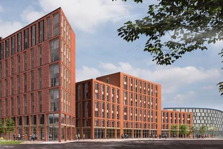 Corstorphine & Wright's student housing proposals for Lincoln