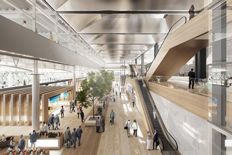 Foster + partners marseille airport