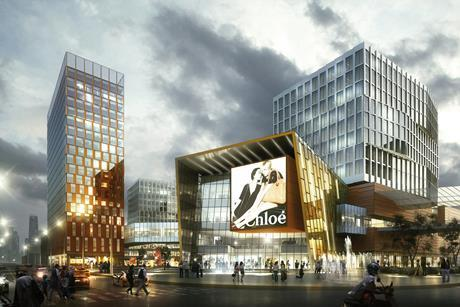 Benoy's proposals for the Yuqiao Science Innovation Centre in Shanghai