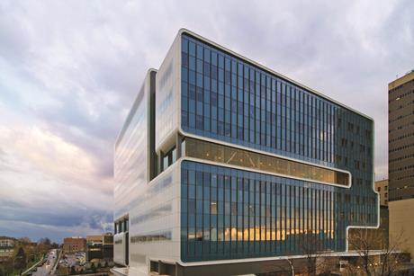 The Kaleida Health Gates Vascular Institute in New York State by Cannon Design