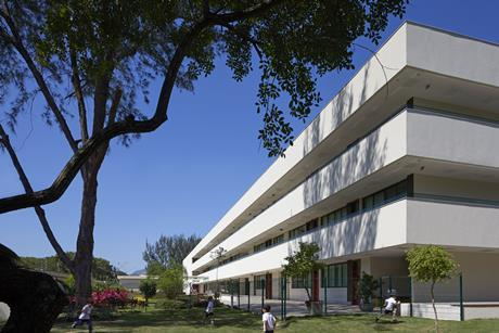 The Senior School at the British School in Rio de Janeiro. By John McAslan & Partners.