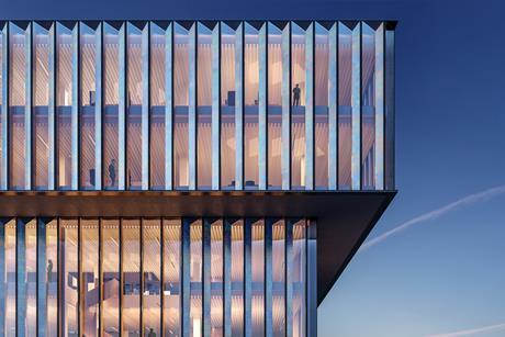 Schmidt Hammer Lassen Architects' proposals for the new Solvay headquarters in Belgium
