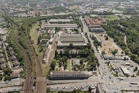 The Northern Maintenance Depot in Budapest, which is earmarked to become the new Hungarian Transport Museum