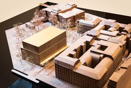 David Chipperfield Architects - Nobel Centre, Stockholm - model