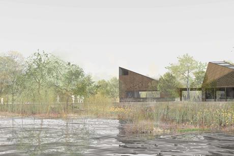 Studio McLeod and Ekkist's winning proposals for Sevenoaks Wildlife Reserve's new visitor centre
