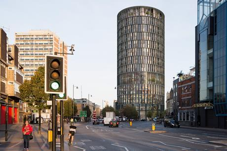 Squire and Partners tower planned for the Foundry site in Shoreditch_index