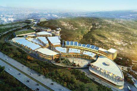 BDP's masterplan for the Vaha Project in Turkey
