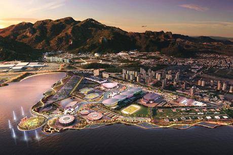 Aecom Rio 2016 masterplan