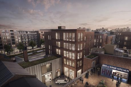 The Wickside development at Hackney Wick, created by BUJ, Ash Sakula and Material Architects