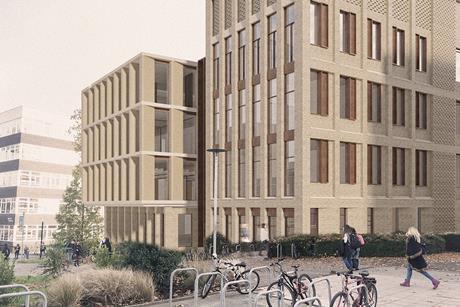 Associated Architects' latest University of Birmingham proposals