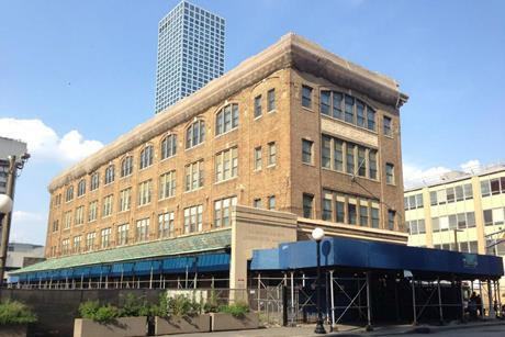The Pathside Building in Jersey City, where OMA's new arts centre will be based