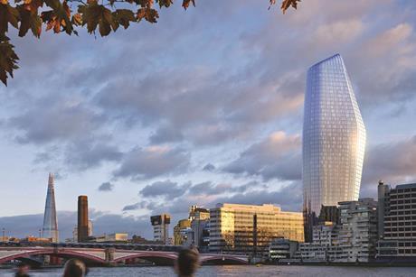 One Blackfriars, designed by Simpson Haugh
