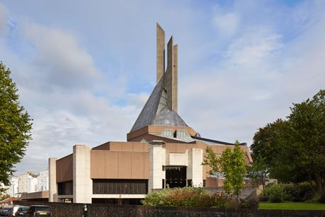 Purcell's completed restoration of Clifton Cathedral