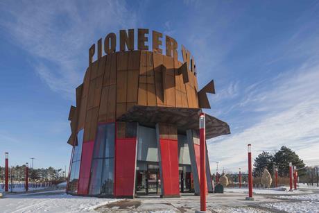 Pioneer Village station, Toronto - Will Alsop, aLL Design with IBI