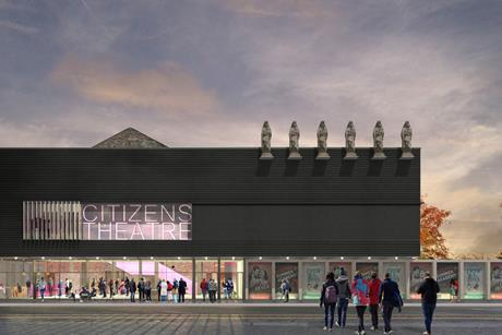 Citizens Theatre, Glasgow, Bennetts Associates