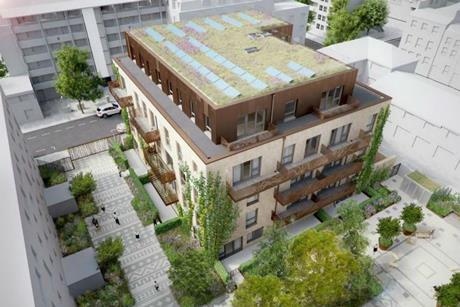 ECD Architects' proposals for Ashbridge Street in Westminster