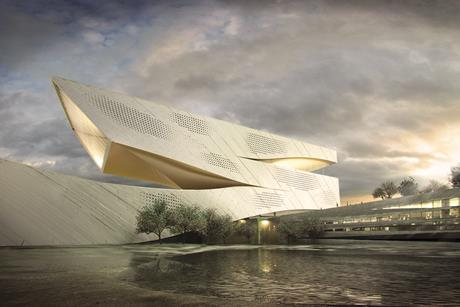 10 Design's winning scheme for Dalian Library, China.