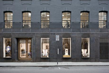 Paul Smith shopfront by 6A Architects