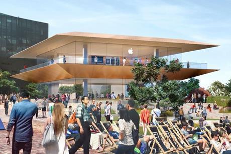 Apple melbourne federation square