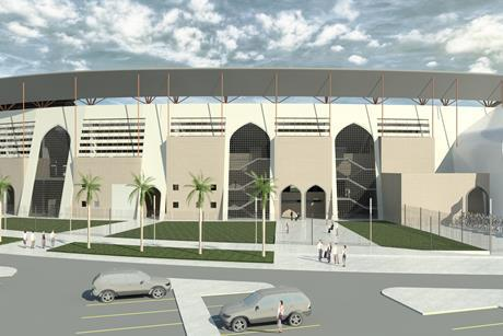 Hill International is project manager on the Al Anbar stadium in Al Anbar, Iraq.