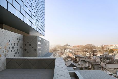Guardian Art Centre in Beijing, by Ole Scheeren