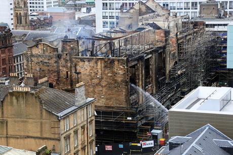 The Mackintosh Building this week