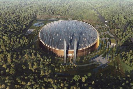 Schmidt Hammer Lassen - Shenzhen waste-to-energy plant