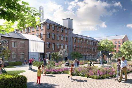 Hawkins Browns proposals for the grade II listed Rutland Mills