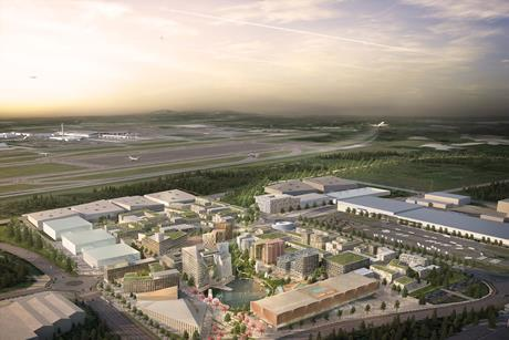 Forbes Massie image of Nordic's Oslo Airport City masterplan