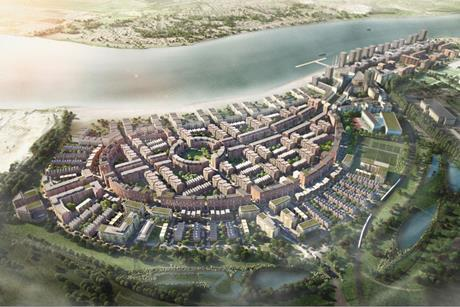 Barking Riverside masterplan