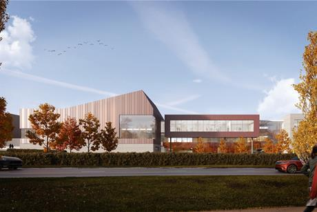 Coombe Wood School by Sheppard Robson