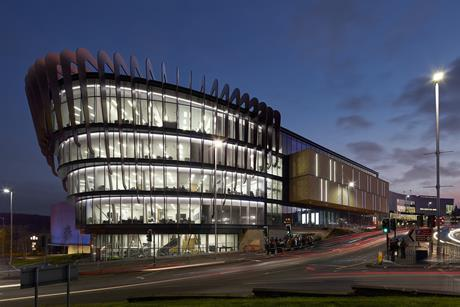 Oastler Building, University of Huddersfield, AHR