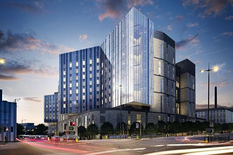 NBBJ and HKS' Royal Liverpool Hospital