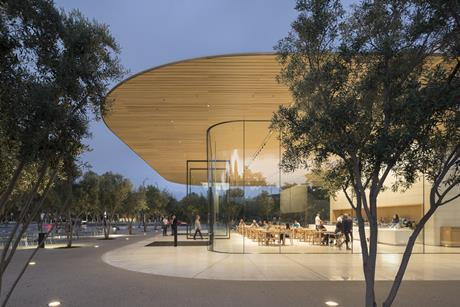 Foster & Partners' visitor centre for Apple in Cupertino, California