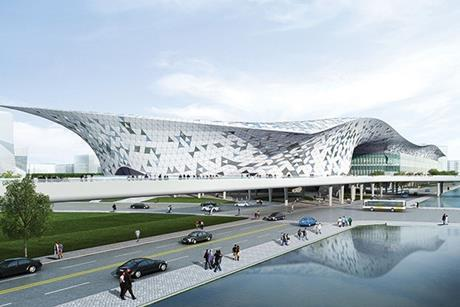 Taichung International Convention and Exhibition Center in Taiwan is scheduled to complete in 2017